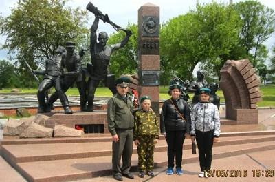 Военно-патриотический клуб Курганской области организует для детей поездки по местам боевой славы