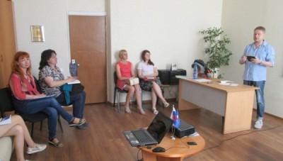 Тележурналист Алексей Дедов провел для курганских НКО мастер-класс по PR-кампаниям