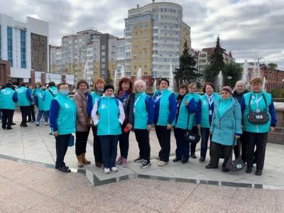 Волонтеры Детской общественной организации Курганской области «Открытый мир» приняли участие в V Всероссийском форуме «серебряных» добровольцев
