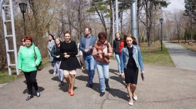 Курганские волонтеры  ДОО «Открытый мир» приняли участие в рекламно-информационном туре